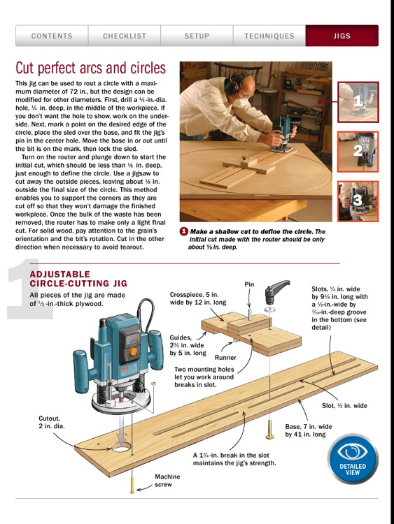 Router Basics from Fine Woodworking screenshot-3