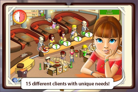 Amelie's Cafe screenshot-2