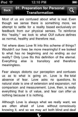 Love Is Letting Go of Fear screenshot-4