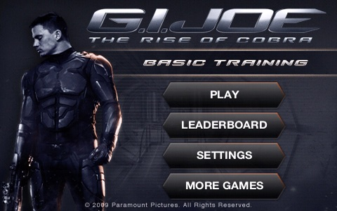 G.I. JOE: THE RISE OF COBRA - BASIC TRAINING