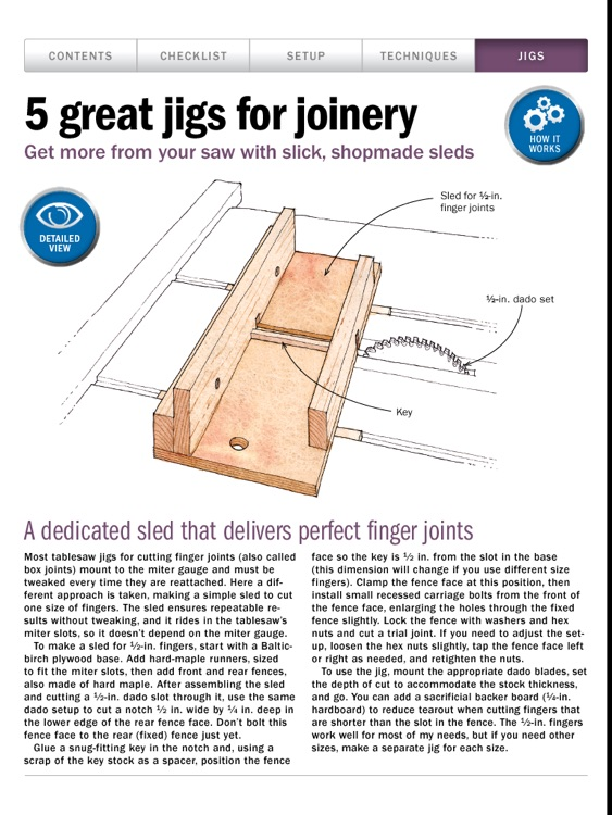 Tablesaw Basics from Fine Woodworking screenshot-4