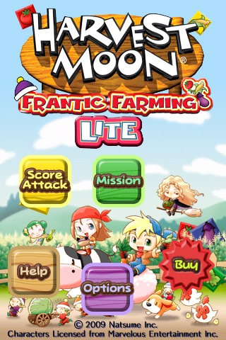Harvest Moon Frantic Farming Lite screenshot-3