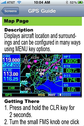 GPS Guide for Garmin 430