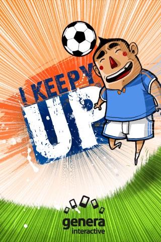 I Keepy UP!!