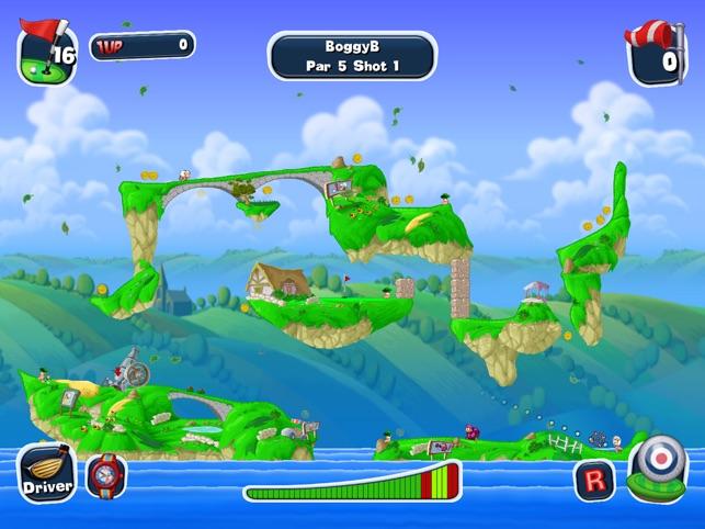 Worms Crazy Golf HD Screenshot