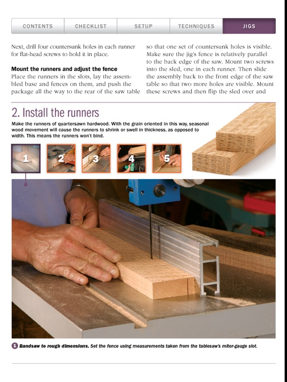 Tablesaw Basics from Fine Woodworking