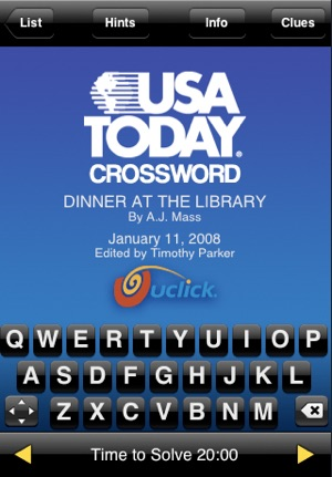 usa today crosswords on the app store. Black Bedroom Furniture Sets. Home Design Ideas