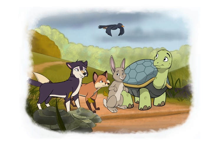 Tortoise and Hare: an Animated Children's Story HD