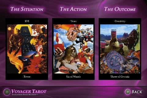 Voyager Tarot Card-A-Day Readings