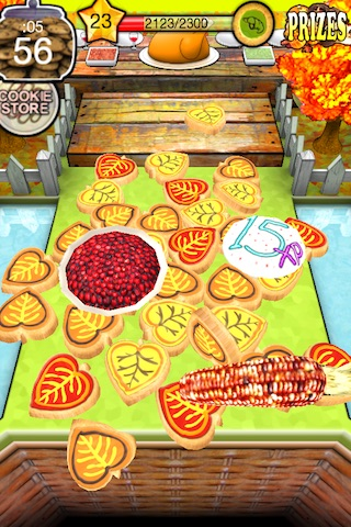 Cookie Dozer - Thanksgiving screenshot-4