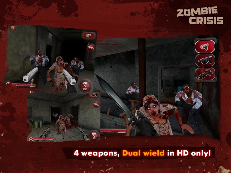 Zombie Crisis 3D HD screenshot-3