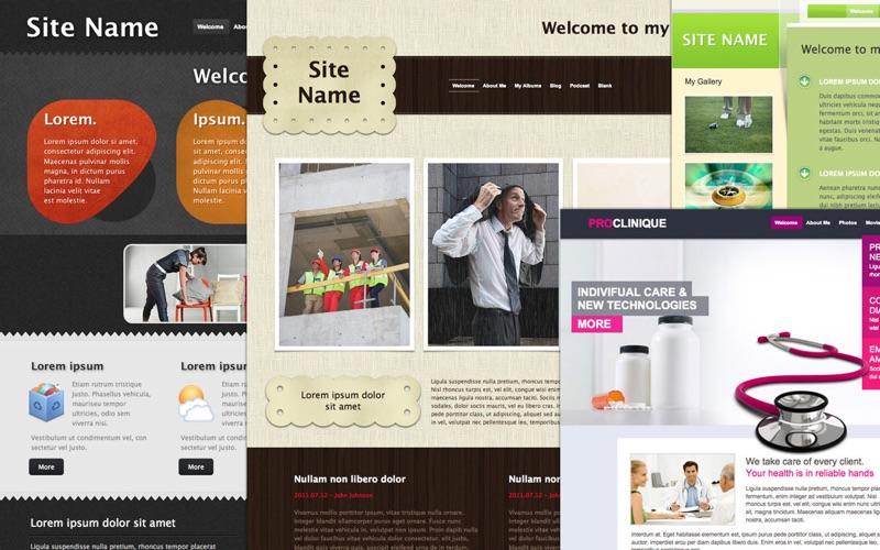 Themes Box for iWeb Screenshot