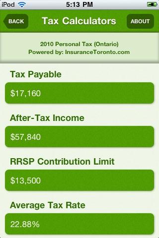 Tax Calculators screenshot-3