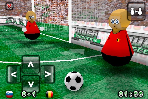 Touch Soccer 3D Lite screenshot-3