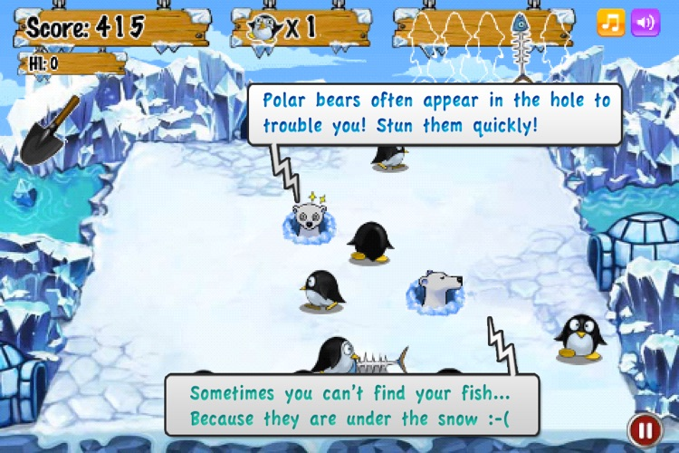 Penguin And Fish screenshot-4