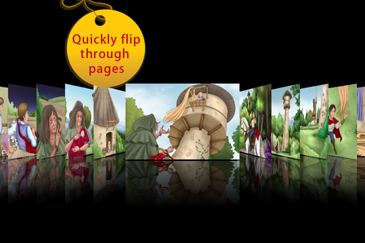 Rapunzel Storybook HD screenshot-4