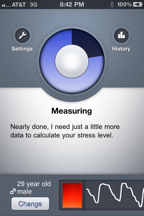 Stress Check Pro by Azumio screenshot-2