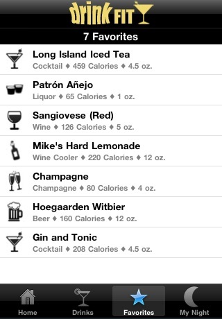 DrinkFit - Beer, Cocktail, Liquor & Wine Nutrition Facts screenshot-4