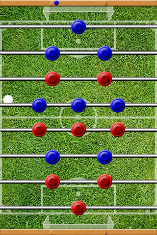 iSoccerFor2 (The First Foosball Game) screenshot-4