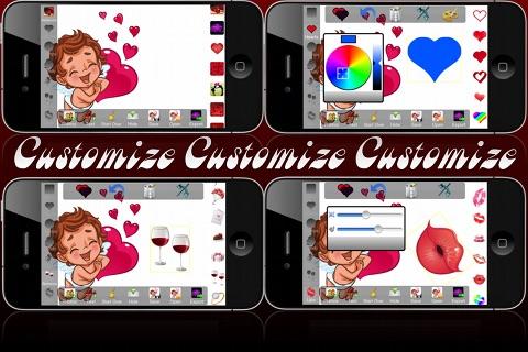 Be Mine Lite - Valentine's Day Card Creator screenshot-3
