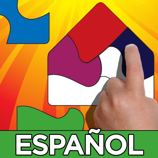 Shape Builder Spanish - Español - the Preschool Learning Puzzle Game