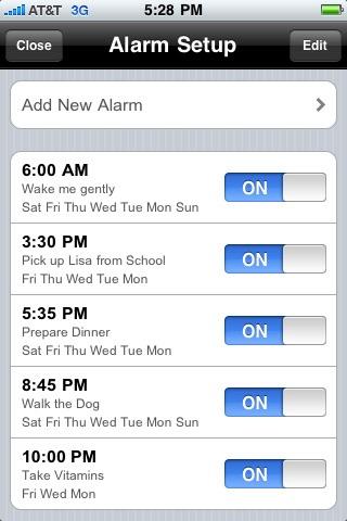 12,24 Alarm Clock Sleep Music screenshot-4