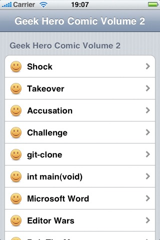 Vol 02: Geek Hero Comic screenshot-3