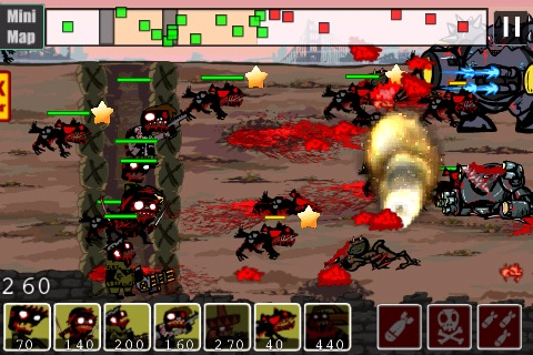 2012 Zombies vs Aliens Warfare screenshot-4