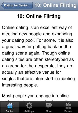 Online Dating for Senior Citizens screenshot-2