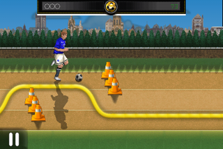 Sensible Soccer SkillsCaptura de pantalla de1