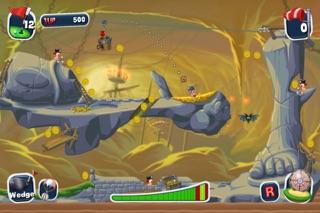 Screenshot #1 pour Worms Crazy Golf