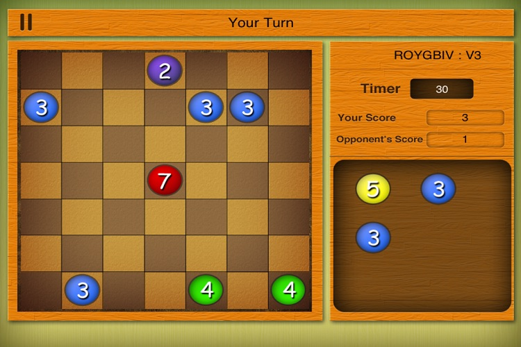 A Dice Strategy Board Game - ROY G. BIV  Free screenshot-3