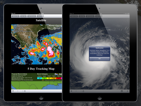 NOAA Hurricane Center HD screenshot 1