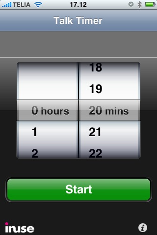 Talk Timer - Countdown Clock for Speeches, Lectures and Presentations