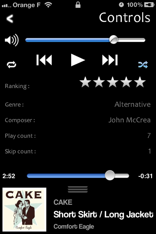 CarMusic - Smart player for your Car screenshot-3