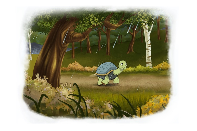 Tortoise and Hare: an Animated Children's Story HD screenshot-3