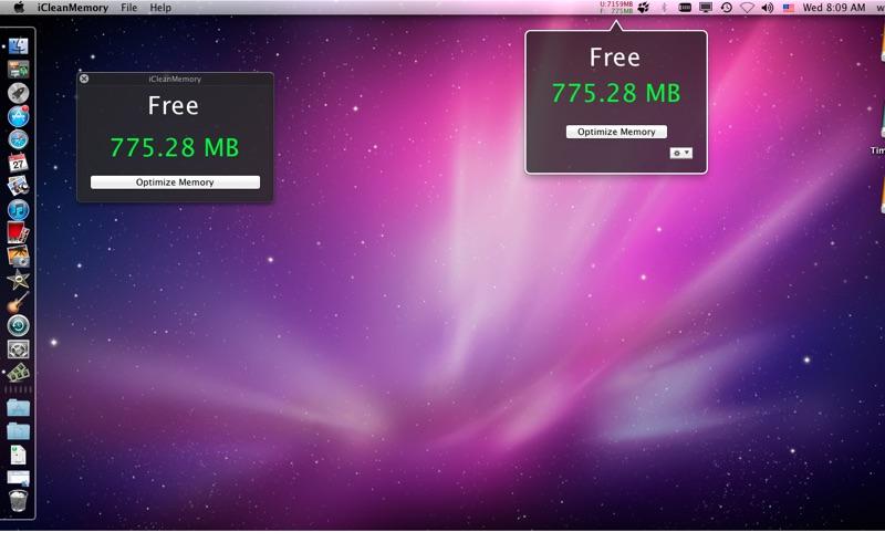 iCleanMemory Screenshot