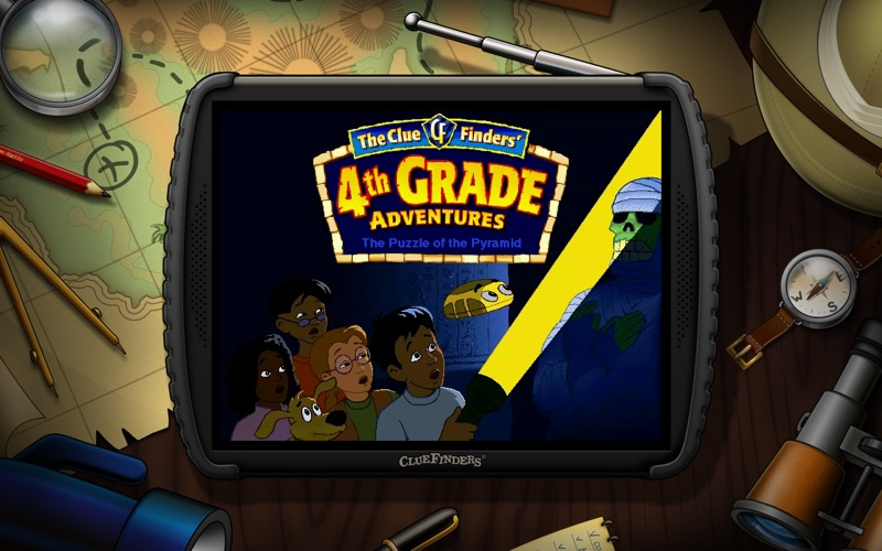 ClueFinders 4th Grade Screenshot