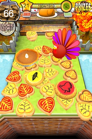 Cookie Dozer - Thanksgiving screenshot-3