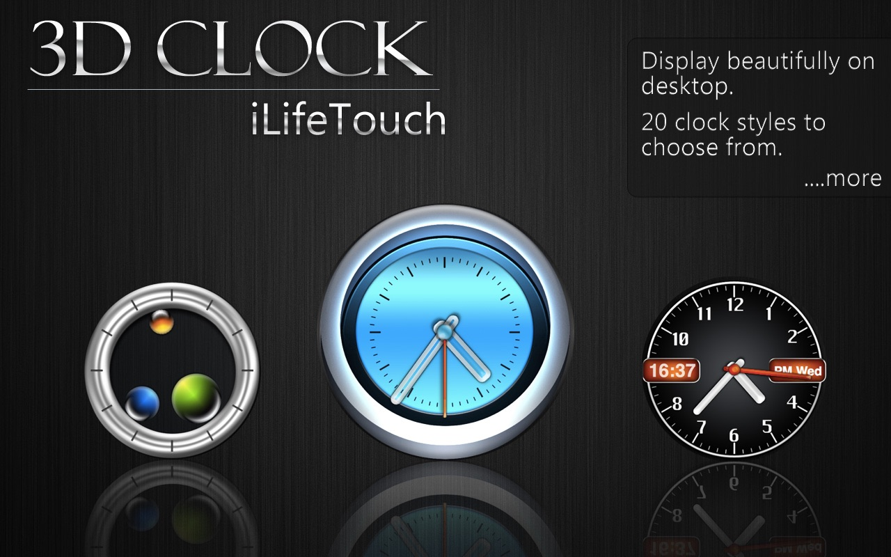 ‎3D Clock on the Mac App Store