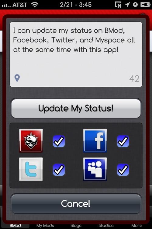 BodyMod.org Mobile App