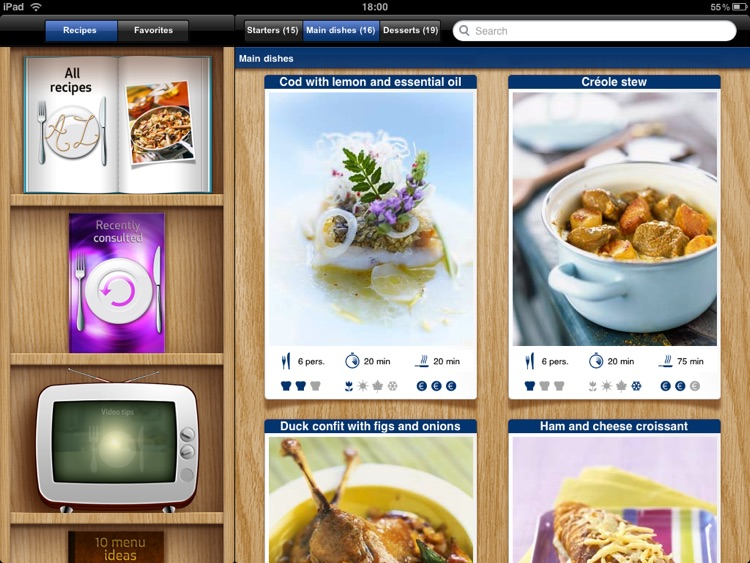 Best of French Cuisine for iPad