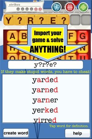 make a finder word