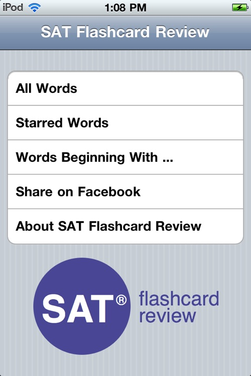 SAT Flashcards screenshot-4