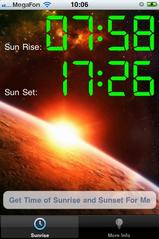 Rise Of Sun