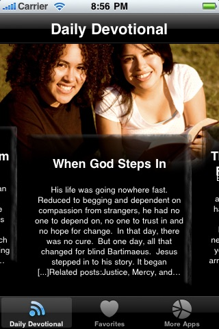 Daily Devotions for Women - Walking with God using Bible Devotions screenshot-1