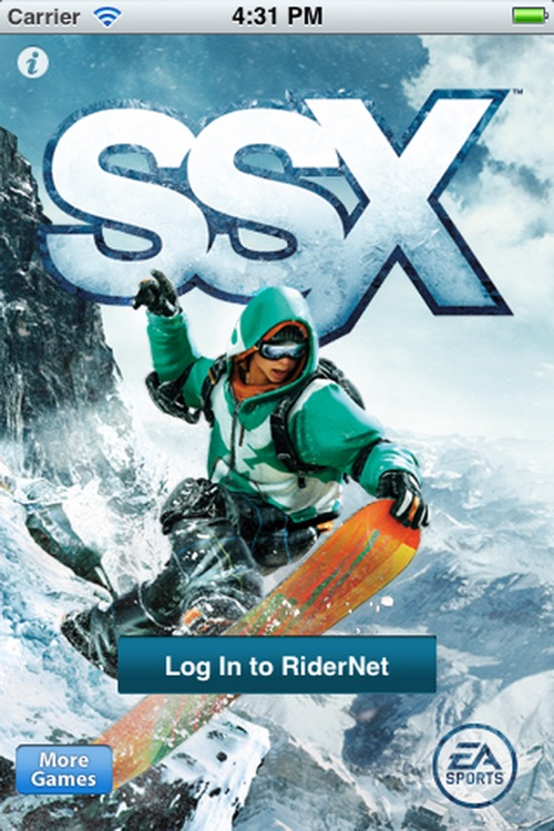 SSX RiderNet by EA Sports