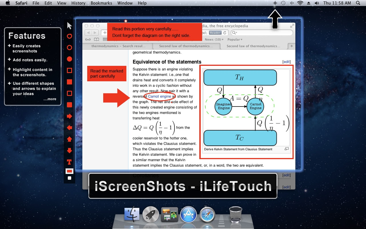 ‎iScreenShots on the Mac App Store