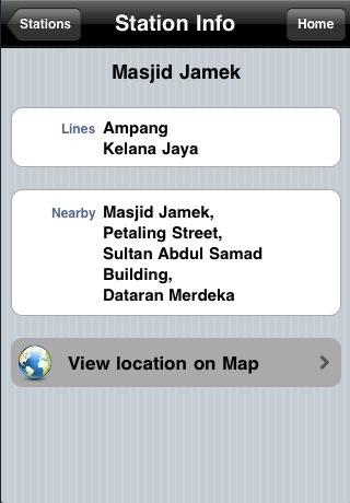 Kuala Lumpur Train Guide screenshot-3