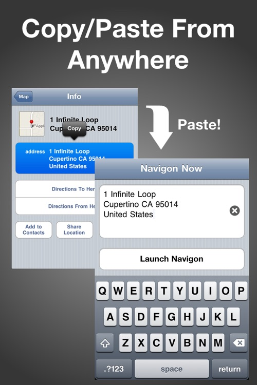 Navigon Now ~ Easy Address Entry For Navigon GPS Apps